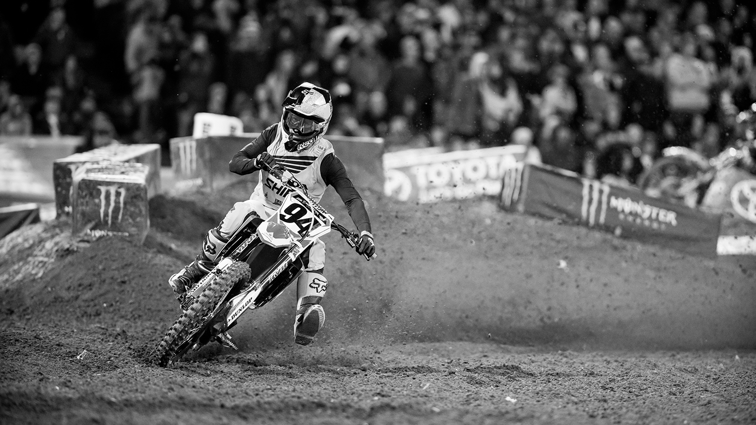 2017 Anaheim One SX | In Black and White | Transworld Motocross