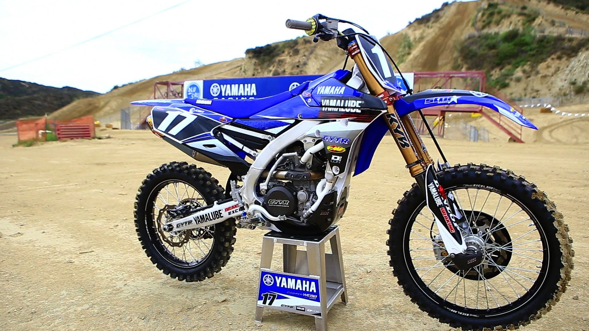 Motocross Action tests Cooper Webb's Factory Yamalube Star Racing Yamaha YZ250F