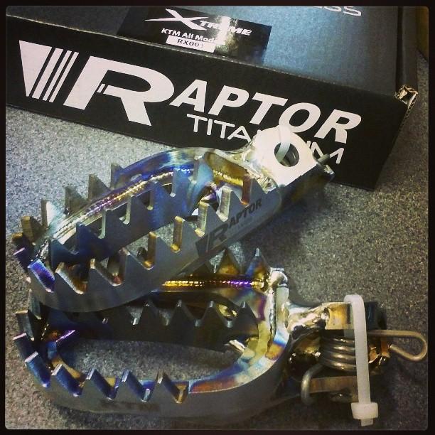 RX001 KTM Xtreme footpegs; fits all KTM ...