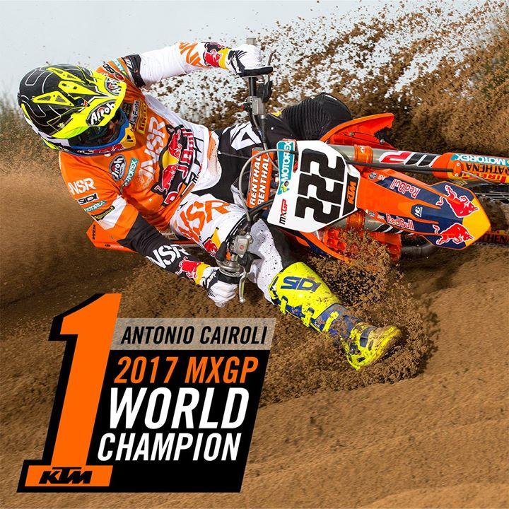 Super Tony Cairoli nails his ninth MX wo...