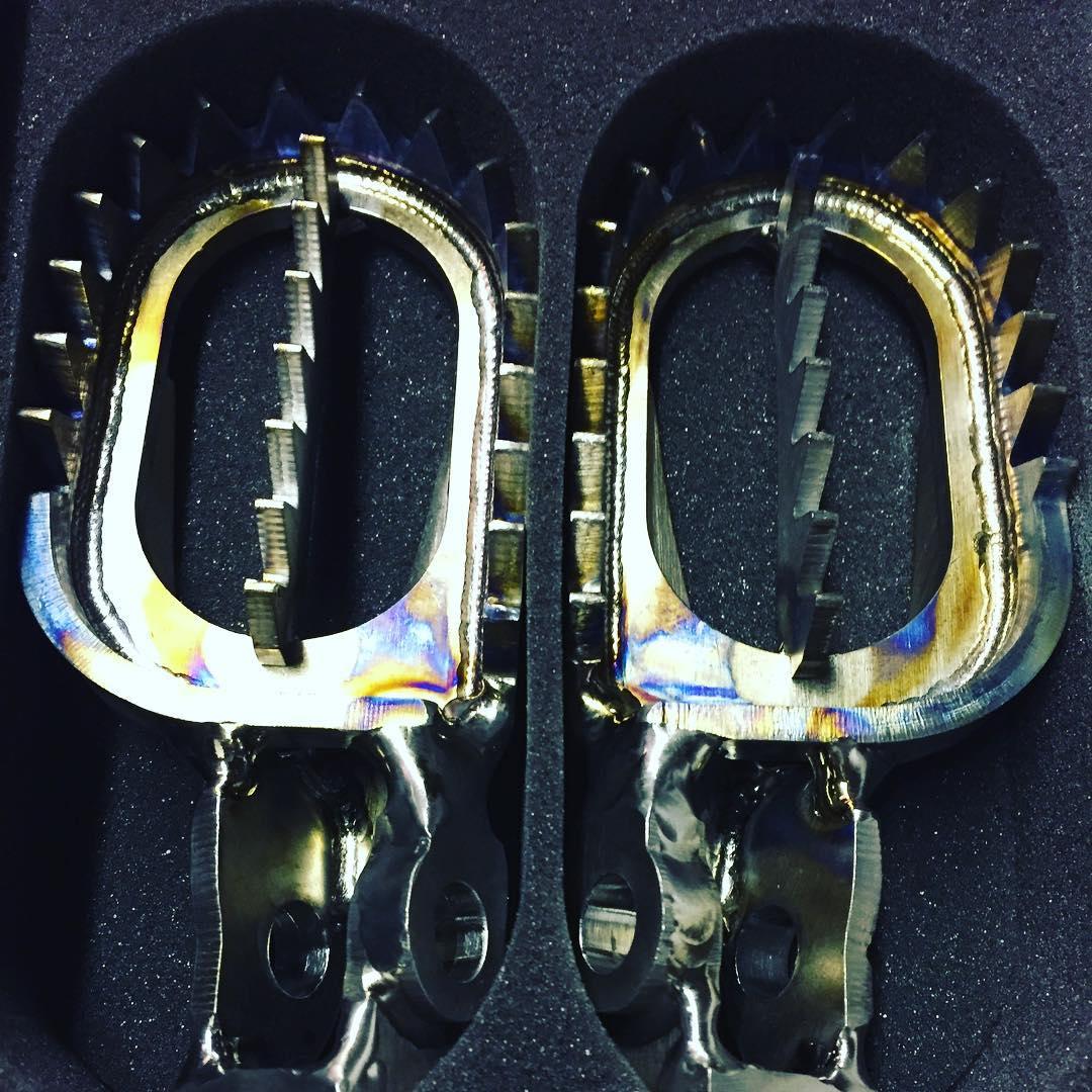 #titanium #enduro #ktm #hardenduro #foot...