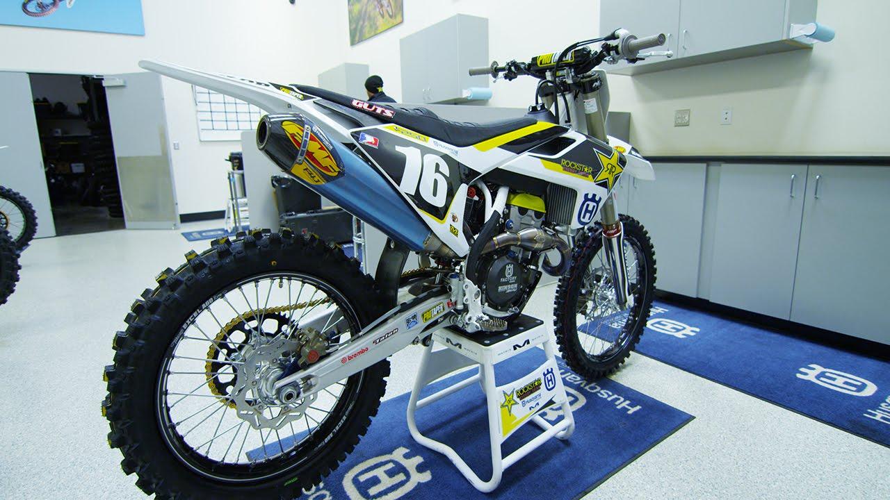 Zach Osborne's Factory Rockstar Racing Husqvarna FC250 - Motocross Action Magazine